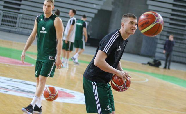 Edo Murić (desno) bo prvič oblekel Olimpijin dres, Jaka Blažič (levo) se vrača v Stožice. FOTO: Tomi Lombar