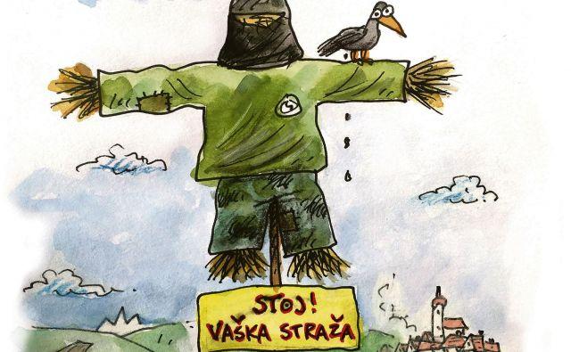 Vaška straža KARIKATURA: Marko Kočevar