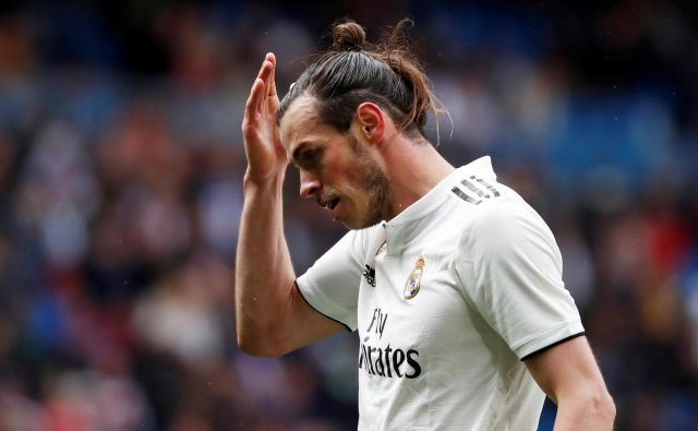 Gareth Bale je pri Realu postavljen povsem na stranski tir, Zinedine Zidane je javno povedal, da ne računa nanj, zato Valižan intenzivno išče rešitev za nadaljevanje kariere. FOTO: Reuters