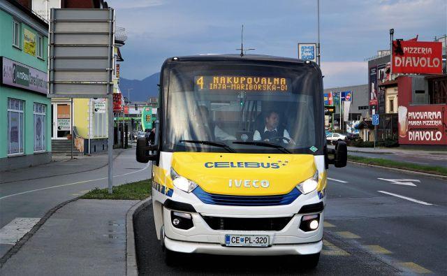 Nakupovalna proga Celebusa med Ostrožnim, Lavo in Mariborsko cesto bo namesto v eni smeri po novem v obeh smereh zavila do konca Nove vasi. FOTO: Brane Piano