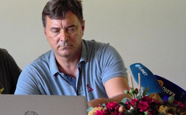 Gvido Novak v postopku ni hotel sodelovati, ker je bila obravnava zaprta za javnost. FOTO: Brane Piano
