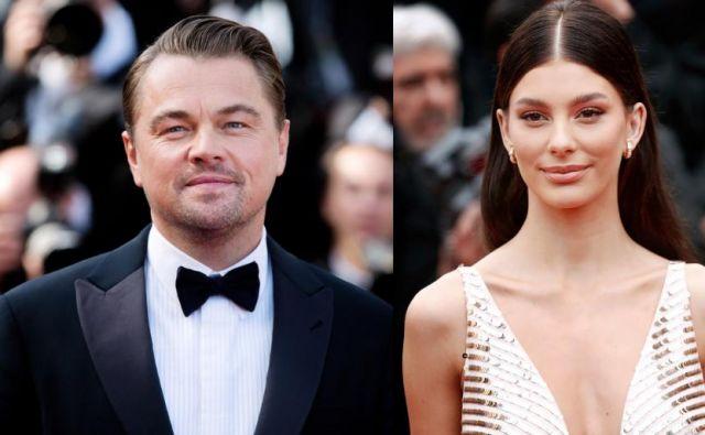 Leonardo DiCaprio in Camila Morrone. FOTO: Shutterstock