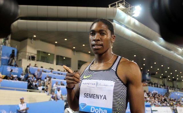 Caster Semenya ne bo tekmovala na svetovnem prvenstvu v Dohi. FOTO: Reuters