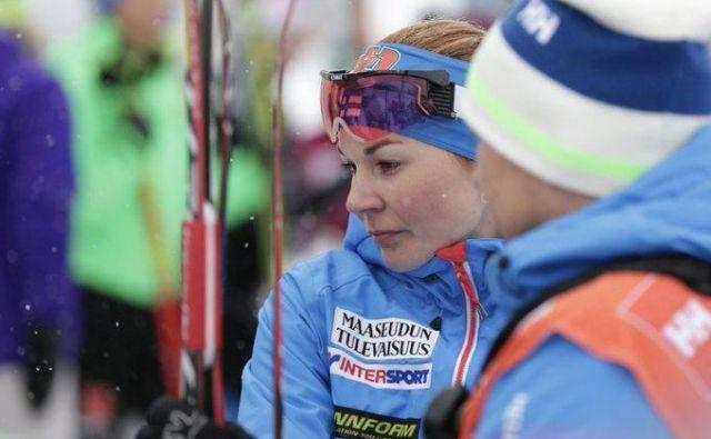 Mona-Liisa NousiainenMona-Liisa je ob devetletni hčerki za seboj pustila tudi moža<strong> </strong>Villeja Nousiainena. FOTO: Twitter