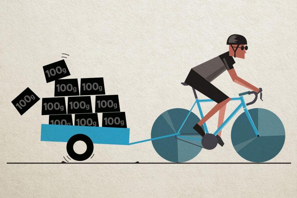 Hujšam, torej kolesarim