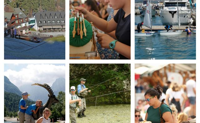 Turizem v Sloveniji že peto leto zapored cveti. FOTO: Delo