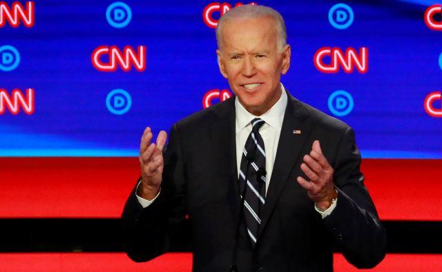 Nekdanji demokratski podpredsednik Joe Biden. FOTO: Reuters