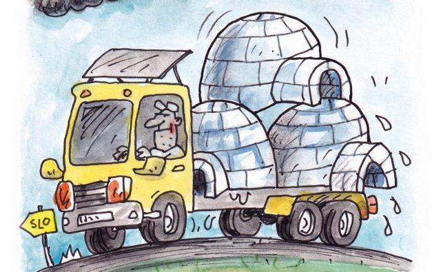 Karikatura: Marko Kočevar