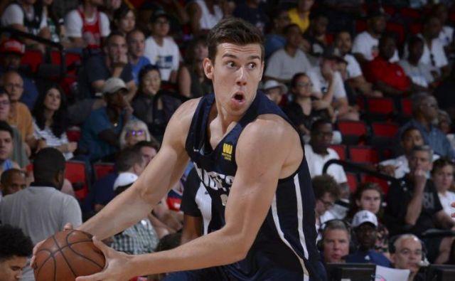 Vlatko Čančar bo v novi NBA sezoni igral za Denver. FOTO: Denver Nuggets