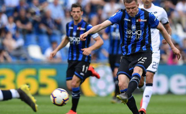 Josip Iličić je bil na javnem radarju Rome in Napolija, ta čas pa se pripravlja na novo sezono v majici Atalante. FOTO: AFP