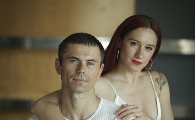 Nastja Bremec Rynia in Michal Rynia Foto Joze Suhadolnik