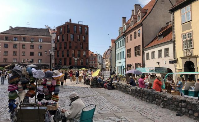V glavnem latvijskem mestu je precej turistične ponudbe. Foto Aljaž Vrabec