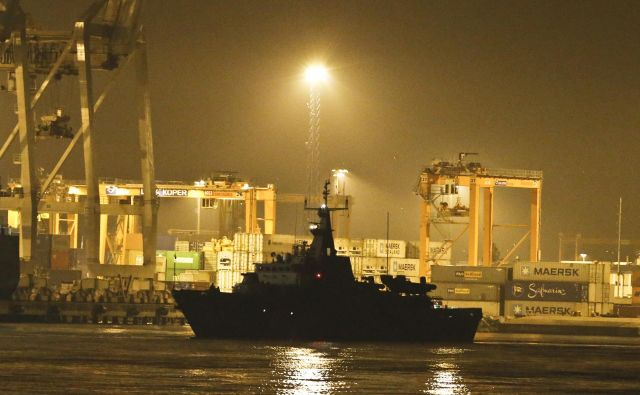 Večnamenska vojaška ladja Triglav bo na rednem remontu od enega do dveh let. Foto Jože Suhadolnik