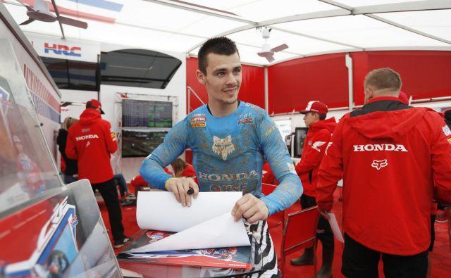 Tima Gajserja čaka dirka v Belgiji. FOTO: Leon Vidic/Delo