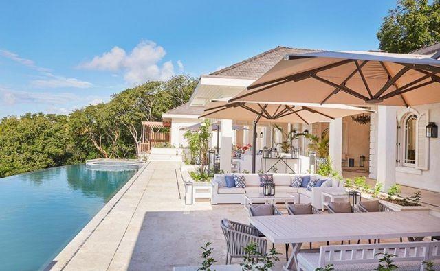Villa Antilles je bila zgrajena pred kratkim, vojvoda in vojvodinja Camebriška pa jo najameta vsako leto, odkar ima odprta vrata. FOTO: Mustique-island.com/villa/antilles
