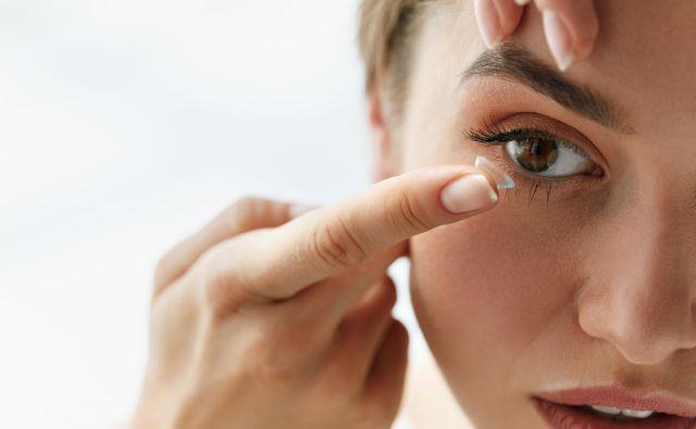 Razvoj kontaktnih leč je močno napredoval. Foto: Moje leče