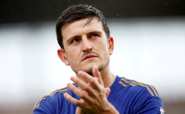Bliskoviti vzpon med najboljše nogometne branilce na svetu je 26-letnemu Harryju<strong> </strong>Maguireju prinesla rekordni prestop. FOTO: Reuters