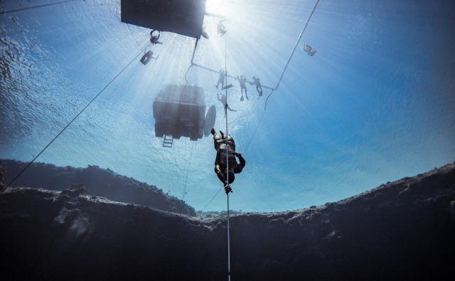 Samo Jeranko je na prejšnjem svetovnem prvenstvu v disciplini potop ob vrvi osvojil tretje mesto. FOTO: Alex St. Jean