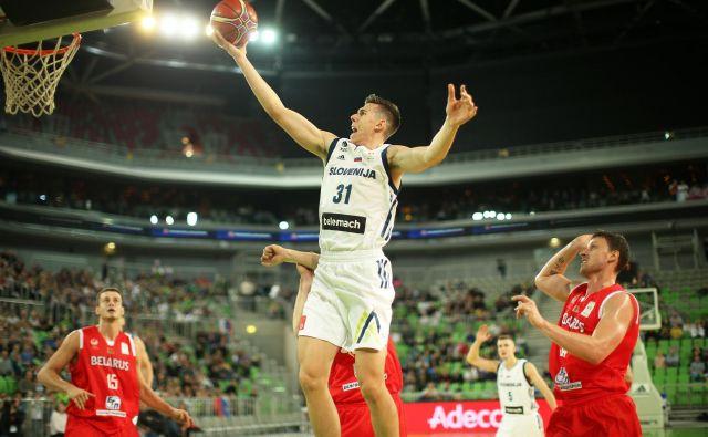 Vlatko Čančar je dve leti po izboru na naboru NBA prepričal Denverjeve šefe. FOTO: Jure Eržen