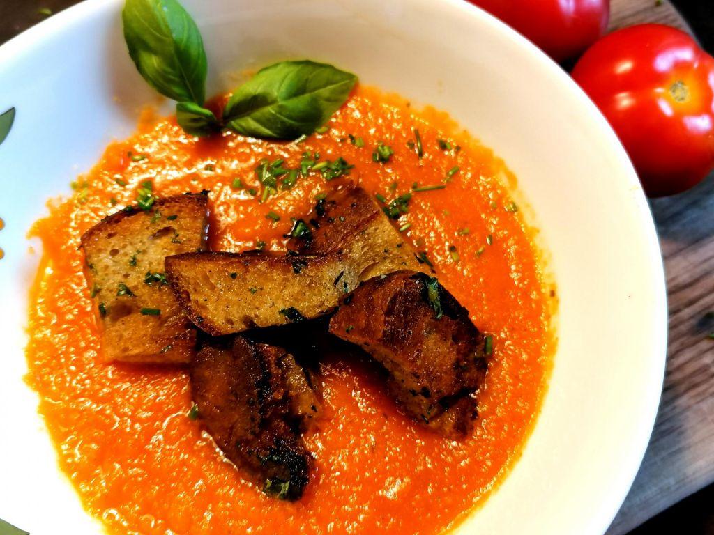 Poletov recept: paradižnikova juha