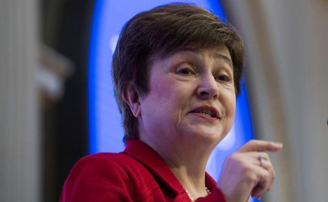 Georgieva je bila med letoma 2014 in 2016 evropska komisarka za proračun in ena od podpredsednic evropske komisije. FOTO: Jewel Samad/AFP