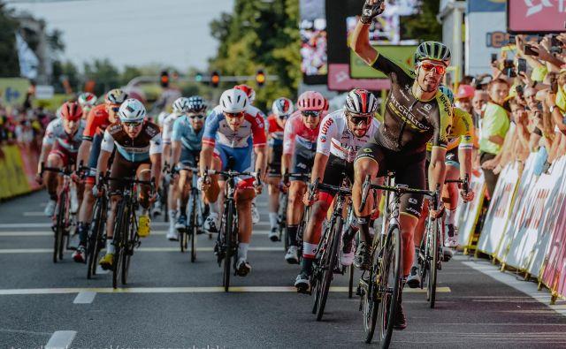 Luka Mezgec je dobil drugo etapo dirke po Poljski. Foto Szymon Gruchalski/Tour de Pologne