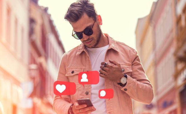 vplivnež družabna omrežja instagram facebook influensar Foto Shutterstock
