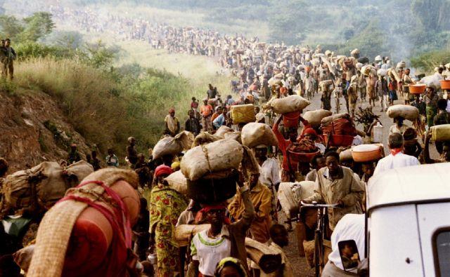 Na dan je bilo v povprečju ubitih 8000 ljudi. Hutuji so pobili več kot 70 odstotkov Tutsijev. FOTO: Reuters