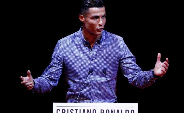 Cristiano Ronaldo najraje gleda dokumentarne filme. FOTO: Reuters