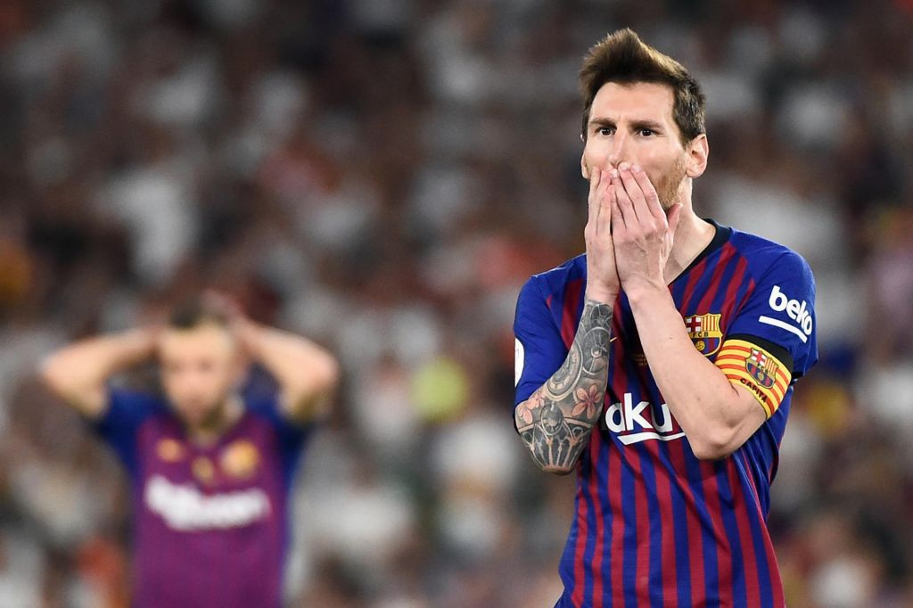 Messi jo je skupil že na prvem treningu