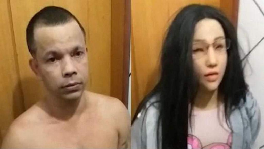 FOTO:Preprodajalec drog skušal pobegniti, preoblečen v devetnajstletnico