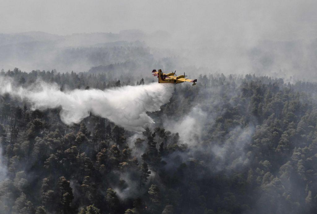 FOTO:Požari bodo še poslabšali podnebje