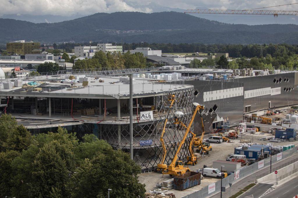 Novogradnje pritiskajo na Ljubljano
