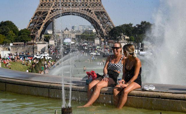 Velik del Evrope je junija in julija zajel vročinskival. FOTO: Bertrand Guay/AFP