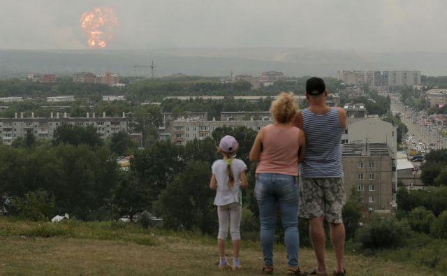 V širši okolici Ačinska živi 100.000 ljudi. Foto Reuters