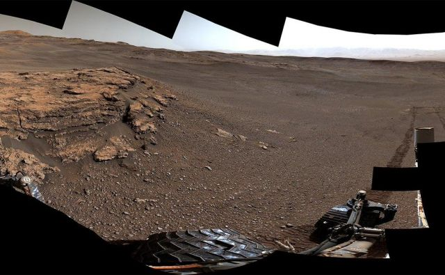 Panorama z Marsa. FOTO: NASA/JPL-Caltech/MSSS