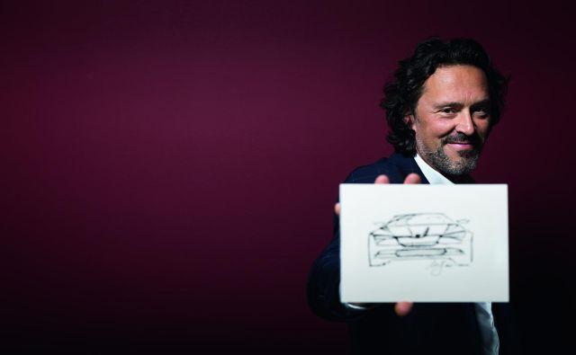 Marko Jevtić, avtomobilski oblikovalec pri znamki Škoda. FOTO: Bor Dobrin