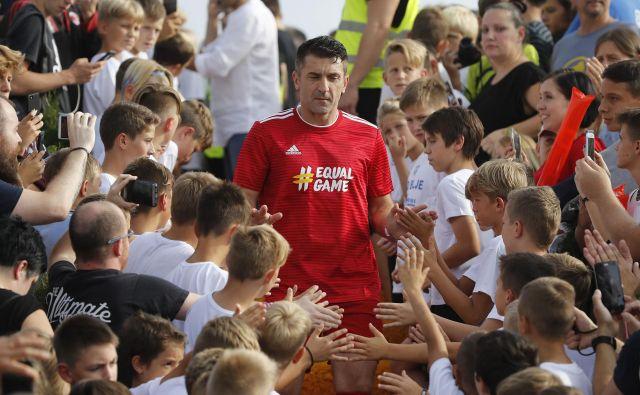 Marinko Galić je tudi po koncu kariere močno vpet v šport. FOTO: Leon Vidic