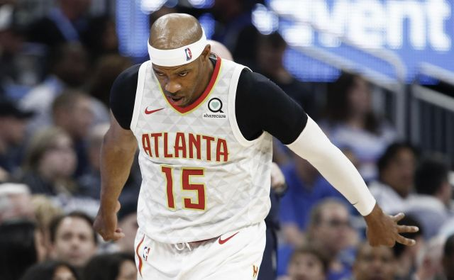 Vince Carter ostaja v ligi NBA. FOTO: USA Today Sports