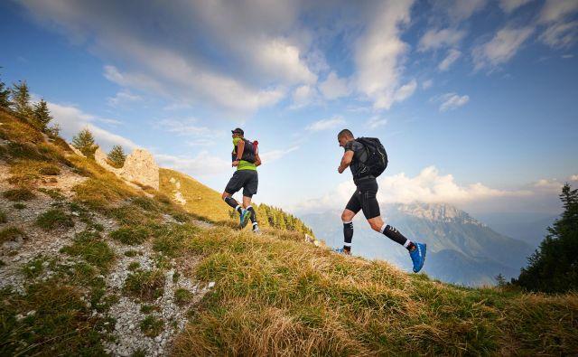 Klemen Pušnik in Alfonz Prevorčič Fonza, idejna očeta tekaške prireditve, s katero promovirajo ne le kraj, ampak vso regijo.  FOTO: Tomo Jeseničnik