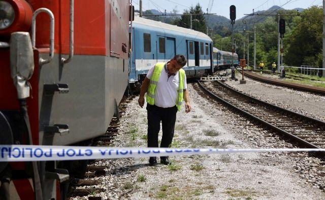 O nesreči so policiste obvestili nekaj po deseti uri. FOTO: Voranc Vogel/Delo