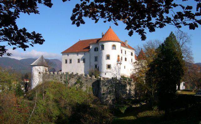 Velenjski grad je eden najlepše ohranjenih gradov v Sloveniji.<br /> Fotodokumentacija Dela