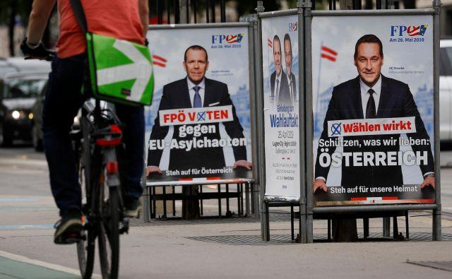 Avtorji poročila poudarjajo, da FPÖ nikoli ni bila uradna naslednica nacionalsocialističnih strank. Foto Reuters