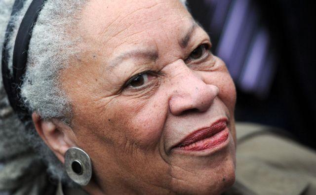 Toni Morrison je bila prva temnopolta pisateljica, ki je prejela Nobelovo nagrado za književnost. FOTO: Franck Fife/AFP