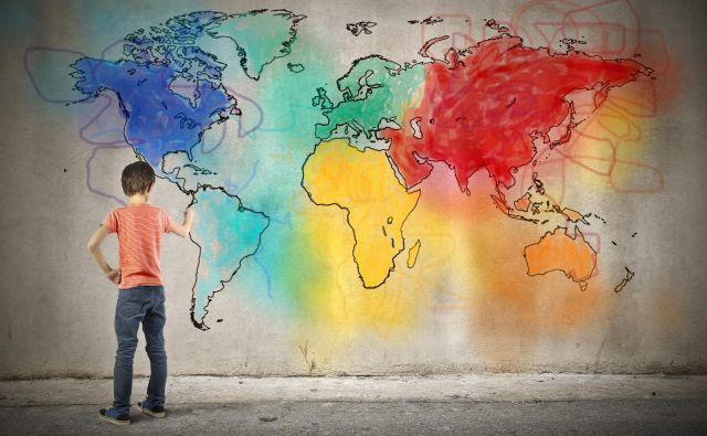 Barvanje zemljevidov se na prvi pogled zdi naloga za otroke, a matematiki se z njo ukvarjajo že desetletja. Foto Shutterstock