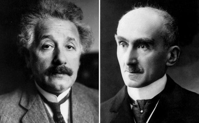 Albert Einstein in Henri Bergson Foto Shutterstock
