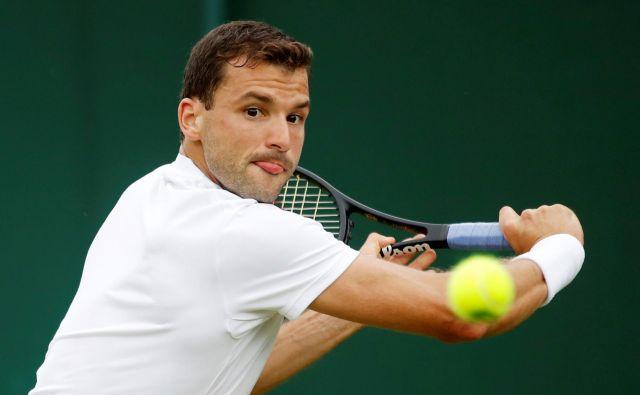 Grigor Dimitrov je lansko sezono začel kot 3. na ATP, v ponedeljek ne bo več med 70. FOTO: Reuters