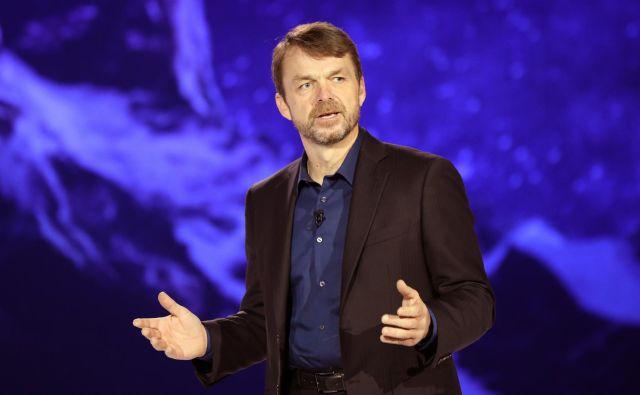 Mike Manley je morda kot človek na vrhu koncerna pred zgodovinsko prelomnico v avtomobilski industriji. Foto Reuters