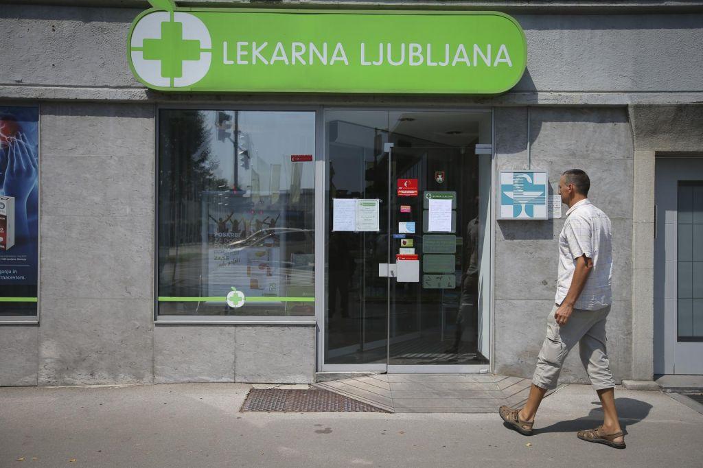 Zakaj so vrata poslovalnic Lekarne Ljubljana zaprta