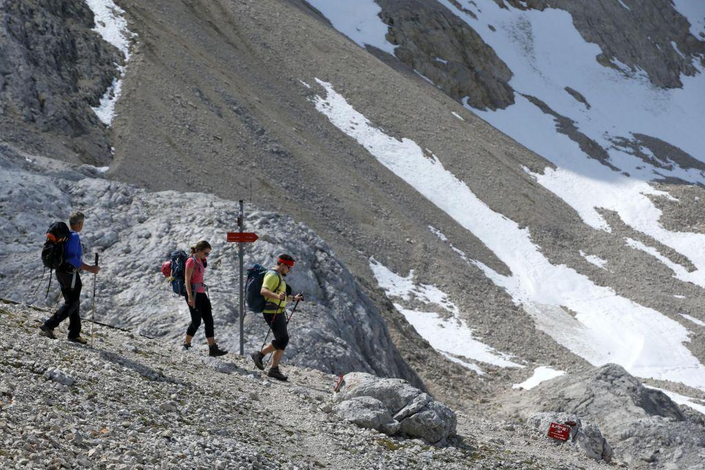 FOTO:Tudi Šmarna gora je za koga lahko Everest